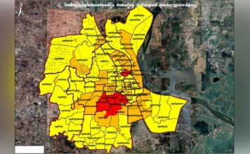 Phnom Penh Colour Zones April 2021