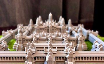 3D printed Angkor Wat Cambodia