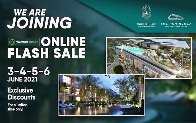 Angkor Grace Residence and Wellness Resort Sale