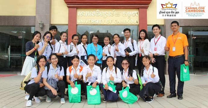 Prince Group Partners with Caring for Cambodia