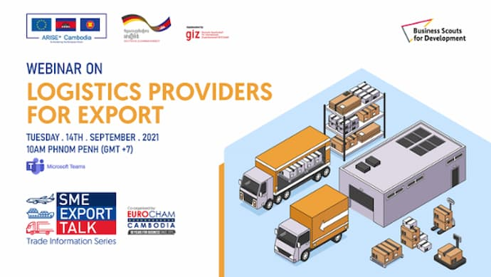 Webinar on Cambodian Logistics Providers for Exports 2021