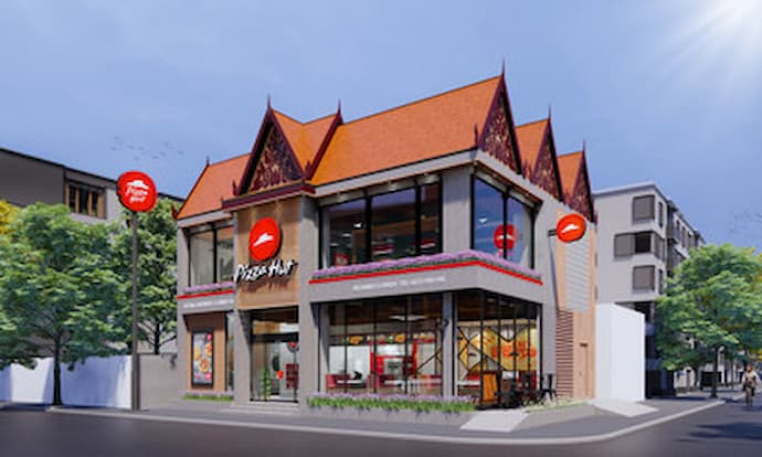 Pizza Hut Cambodia Russian Market