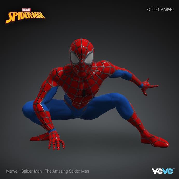 VeVE NFT- Marvel Spiderman