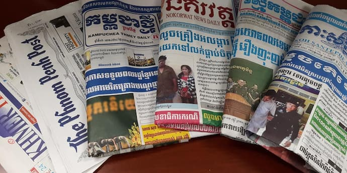Media Outlets Operating in Cambodia