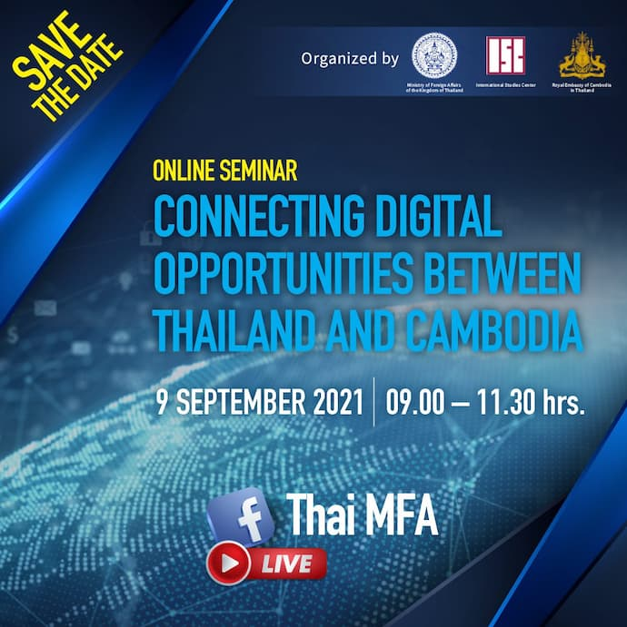 Connecting Digital Opportunities between Thailand and Cambodia Webinar