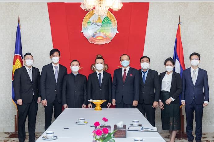 Neak Oknha Chen Zhi - Prince Group Chairman